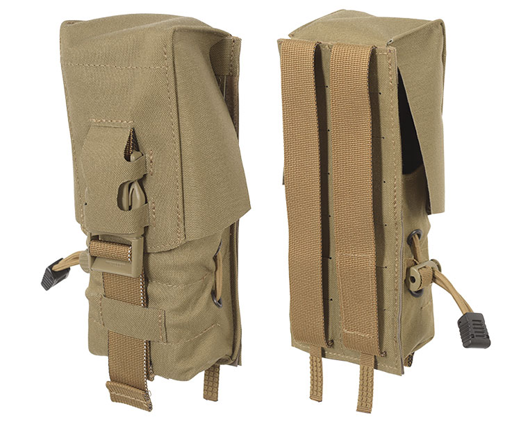 THOR Double AR Mag Pouch - front and back