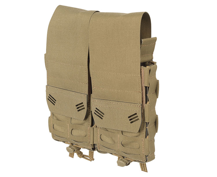 THOR Double Modular Expandable AR/BR Mag Pouch with flaps - front