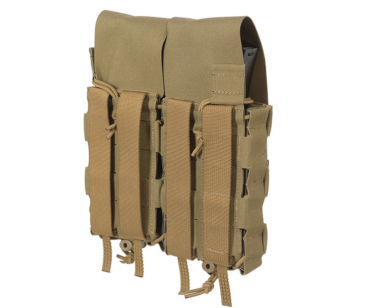 THOR Double Modular Expandable AR/BR Mag Pouch with flaps - back