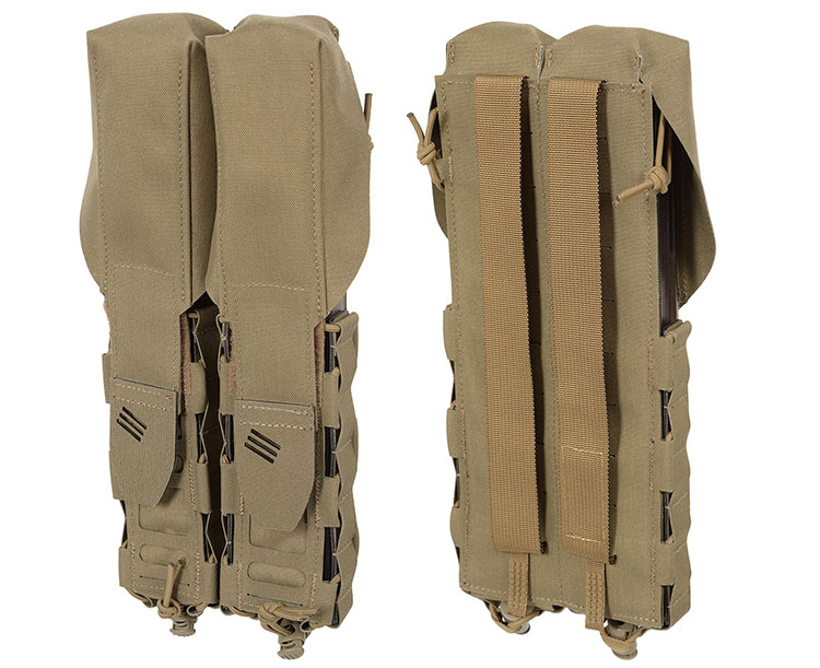 THOR Double P90 Mag Pouch - front and back