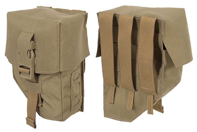 THOR LMG 100 Pouch - front and back