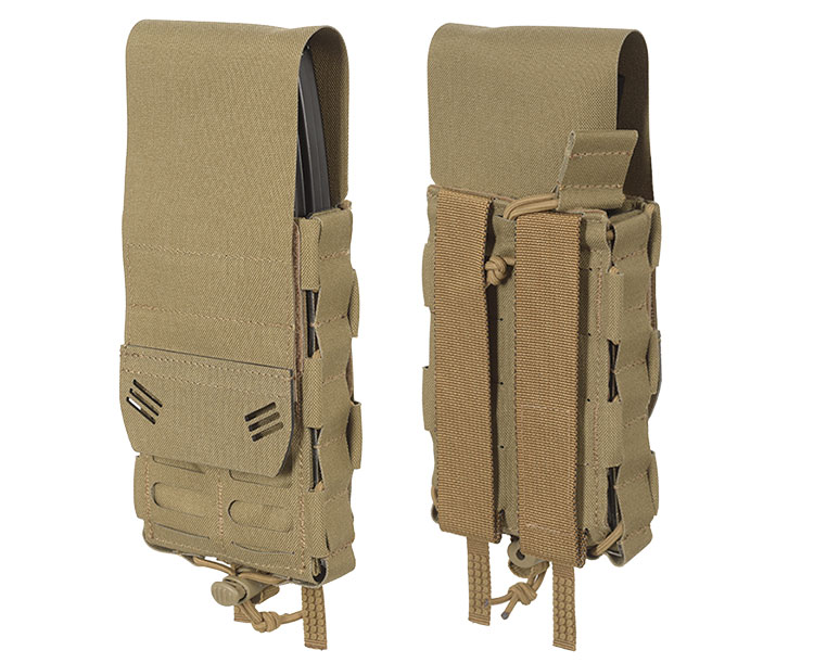 THOR Modular Expandable AR/BR Mag Pouch - front and back with flaps