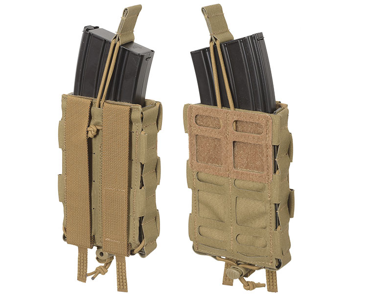 THOR Modular Expandable AR/BR Mag Pouch - front and back without flaps