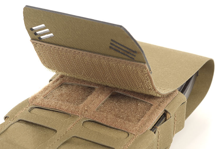 THOR Modular Expandable AR/BR Mag Pouch - flap with OMEGA grab-tab