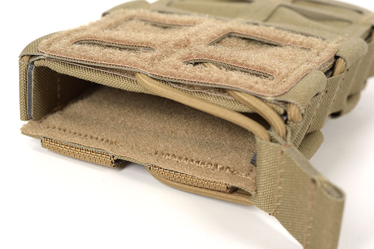 THOR Modular Expandable AR/BR Mag Pouch - retention cord with pull-tab