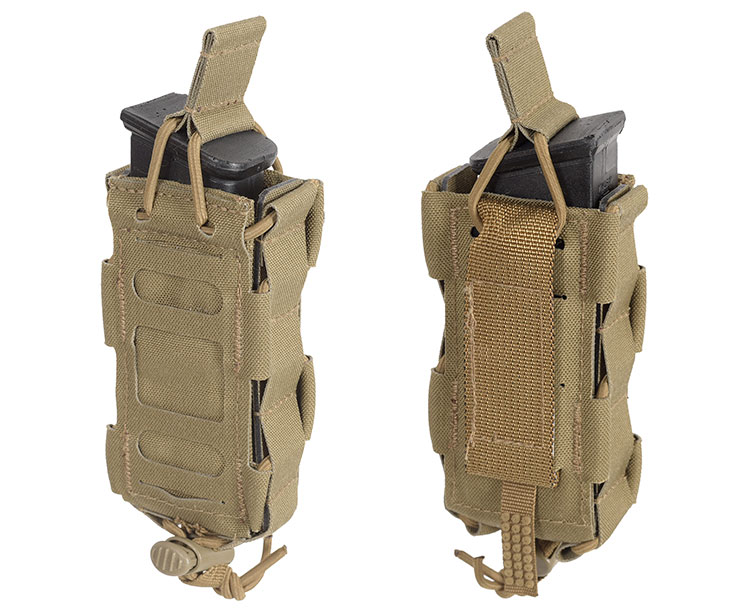 THOR Modular Expandable PDW Mag Pouch - front and back
