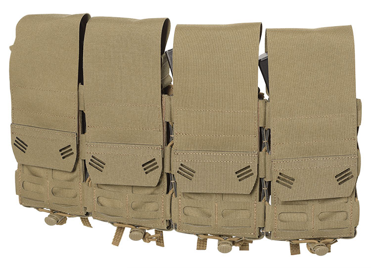 THOR Quad Modular Expandable AR/BR Mag Pouch - front
