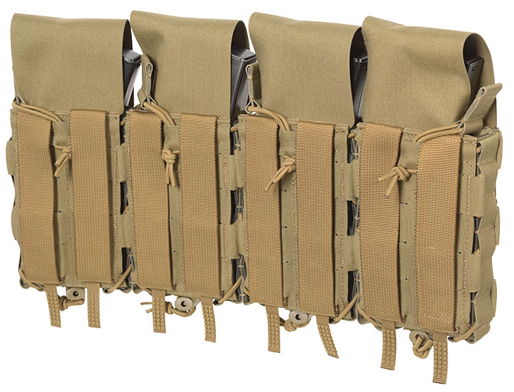 THOR Quad Modular Expandable AR/BR Mag Pouch - back