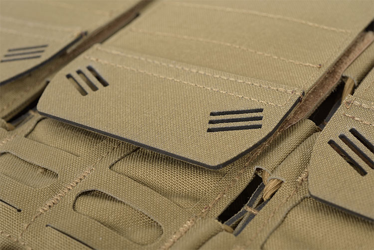 THOR Quad Modular Expandable AR/BR Mag Pouch - flap with OMEGA grab-tab
