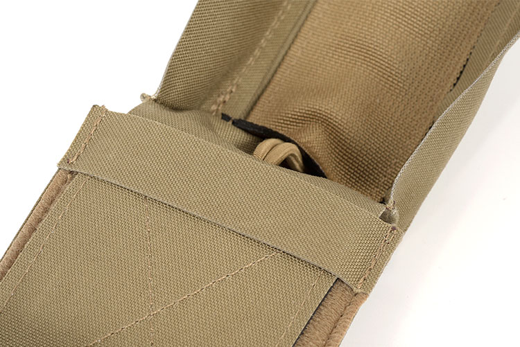THOR Single AR Mag Pouch Swift - internal elastic webbing
