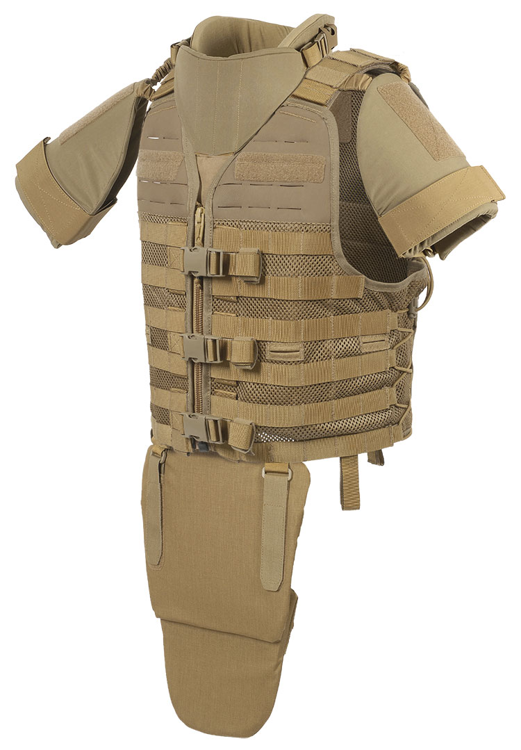 THOR Tactical Vest with additional protection