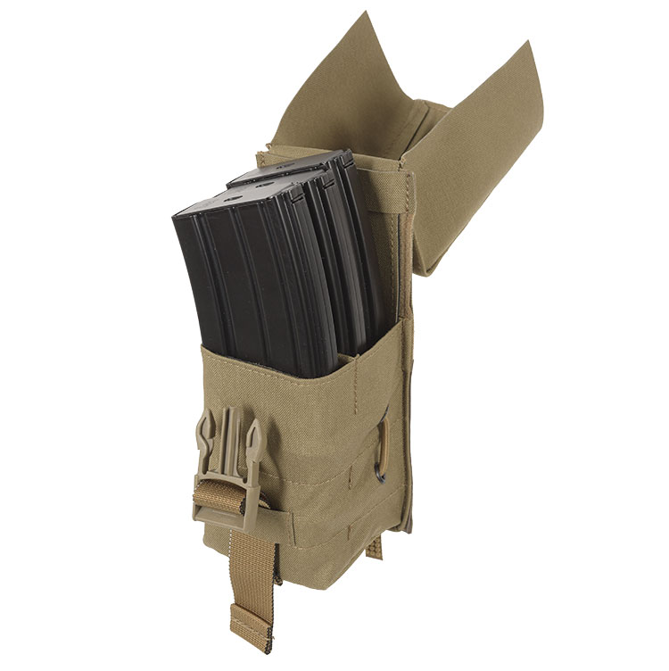THOR Triple AR Mag Pouch - full lid open