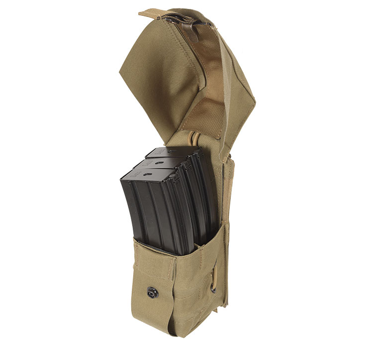 THOR Triple AR Mag Pouch Swift - full lid open