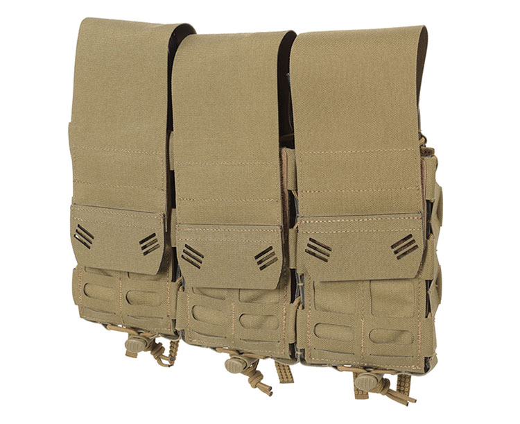 THOR Triple Modular Expandable AR/BR Mag Pouch - front