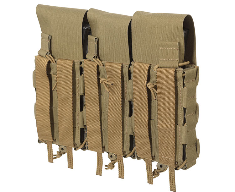 THOR Triple Modular Expandable AR/BR Mag Pouch - back