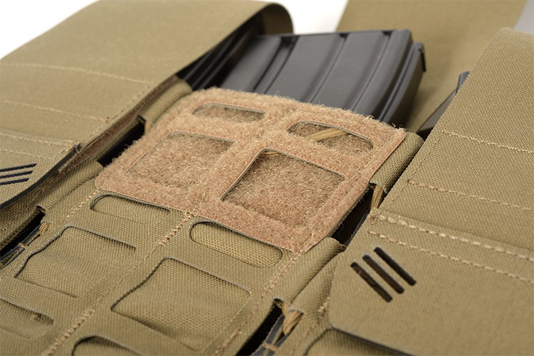 THOR Triple Modular Expandable AR/BR Mag Pouch - open flap