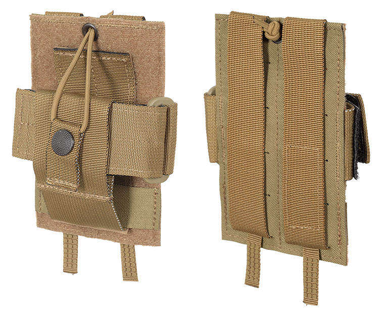 THOR Multi Radio Pouch S - front and back