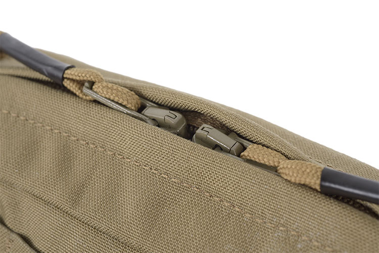 THOR SQR Utility Zip Pouch - double sliders