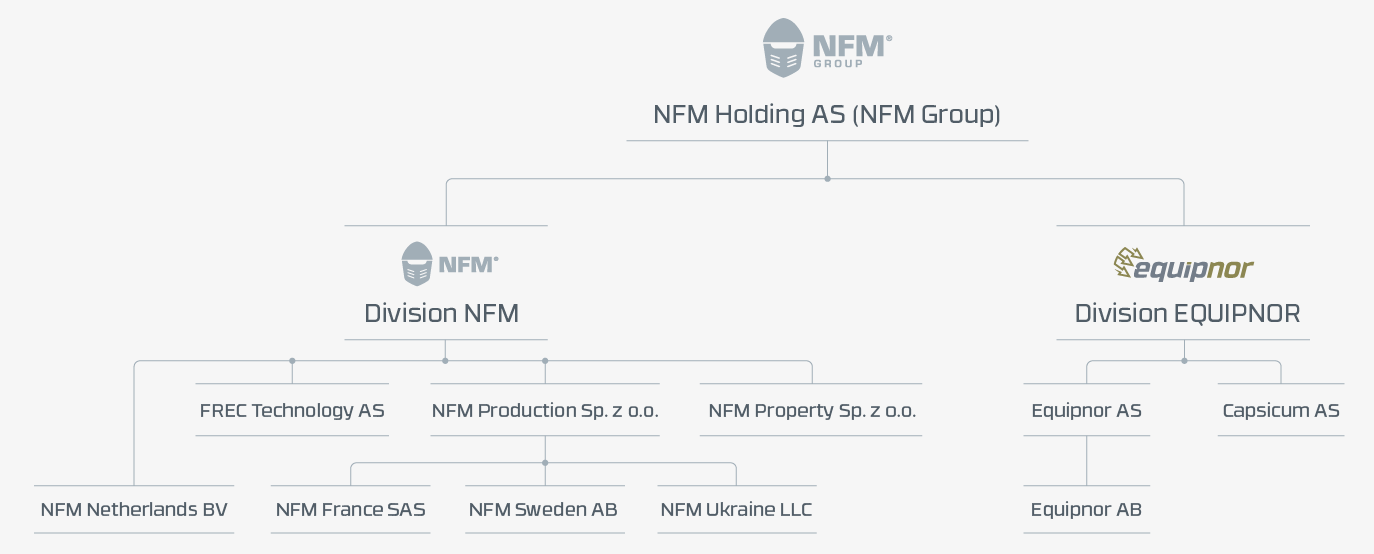 NFM Group structure