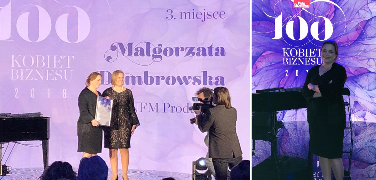 Malgorzata Dombrowska - 100 Business Woman Awards