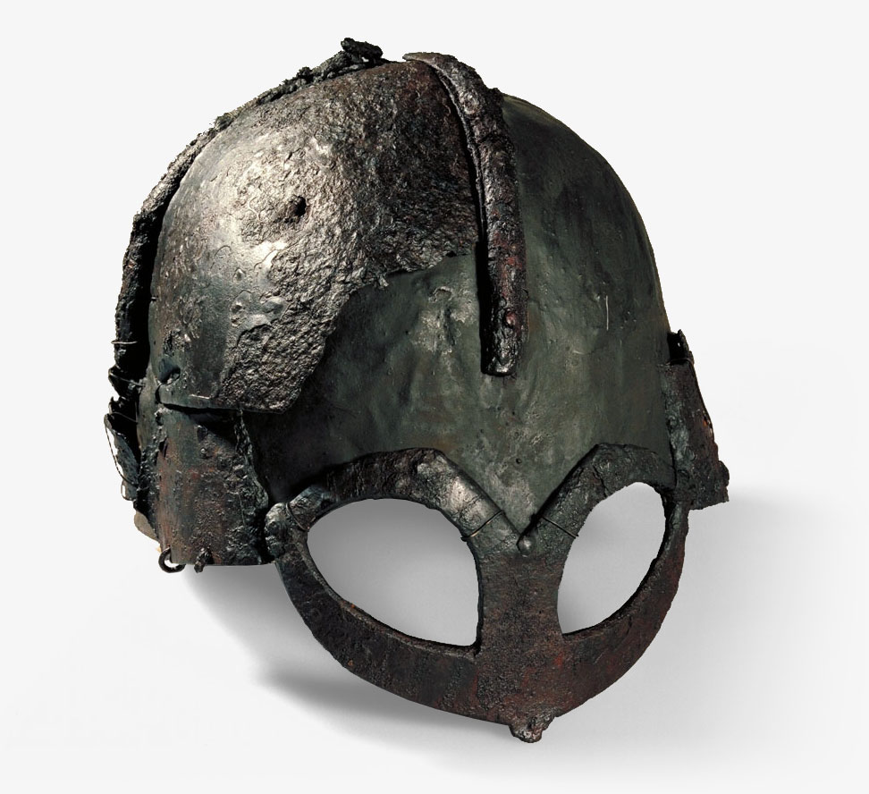 Gjermundbu - Viking Age helmet. Source: NTNU