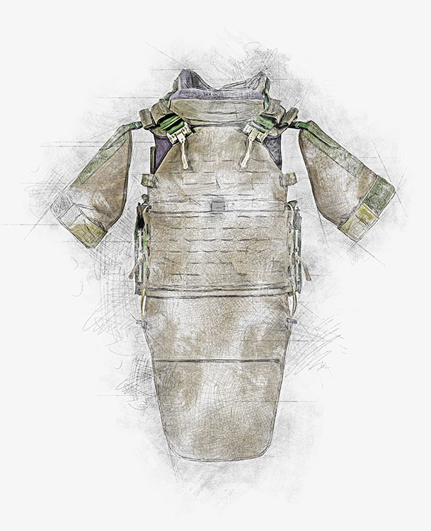 NFM Armored Vest for Lithuanian army